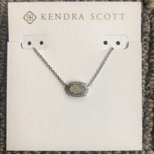 Miniature Kendra Scott Elisa Druzy Necklace